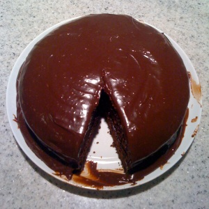 Chocolate Cake and Chocolate Frosting