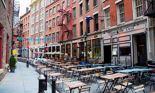 Italian Restaurants In The Financial District Nyc